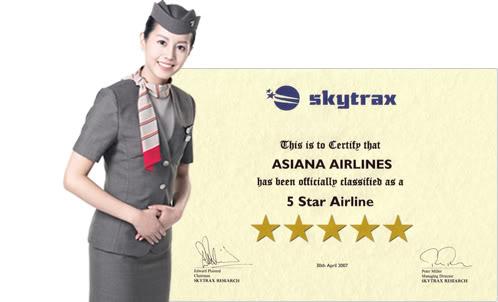 Đại lý vé máy bay Asiana Airlines