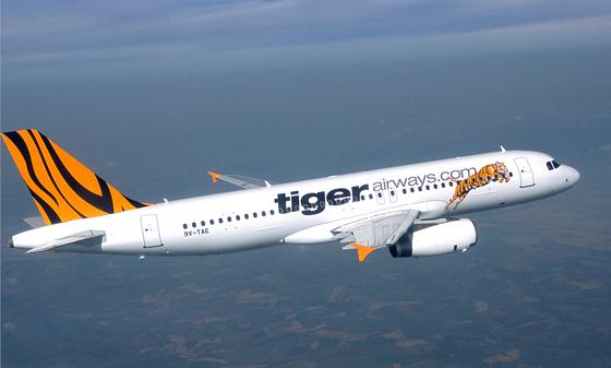 Đại lý vé máy bay Tiger Airways