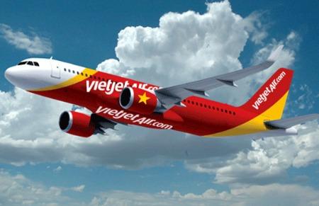 Đại lý vé máy bay Vietjet Air