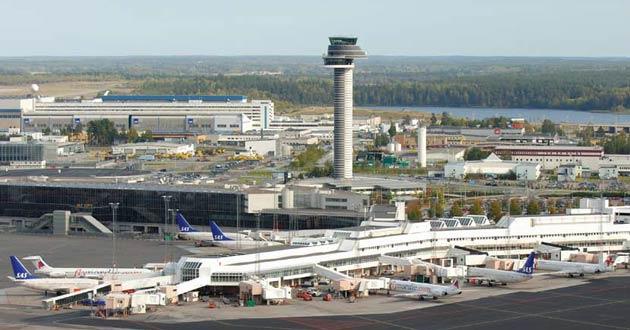 Đại lý vé máy bay đi Thụy Điển