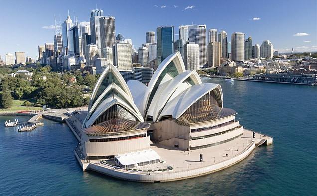 Đại lý vé máy bay đi Úc