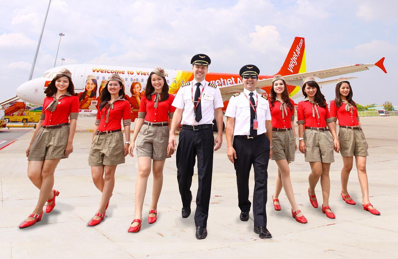 Vé máy bay từ Hải Phòng đi Sài Gòn của VietJet Air