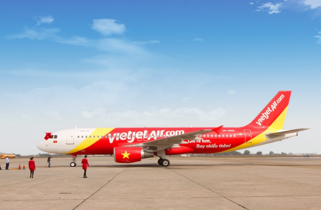 Vé máy bay Hải Phòng Sài Gòn của VietJet Air giá rẻ