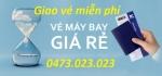 Giao Vé máy bay miễn phí khu vực Quận Hai Bà Trưng Hà Nội