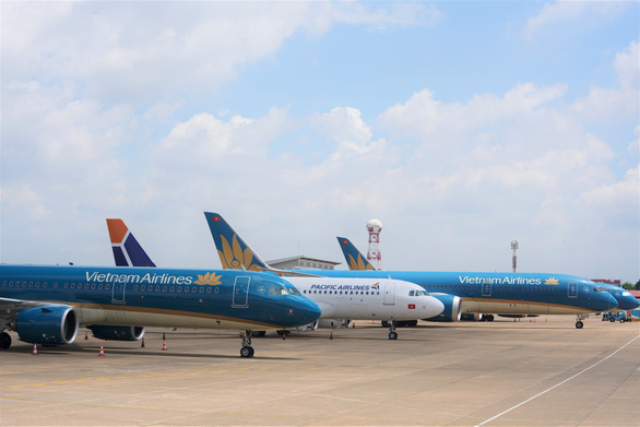 Dù COVID-19 ảnh hưởng, hàng không vẫn dự định phục vụ tết ở mức cao - Ảnh 1.