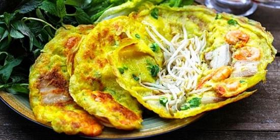 Bánh xèo Quảng Hòa hương vị khó tả Bánh xèo Quảng Hòa hương vị khó tả