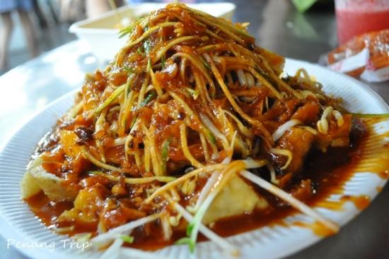 Ẩm thực Malaysia món trộn thập cẩm Pasembur Ẩm thực Malaysia món trộn thập cẩm Pasembur