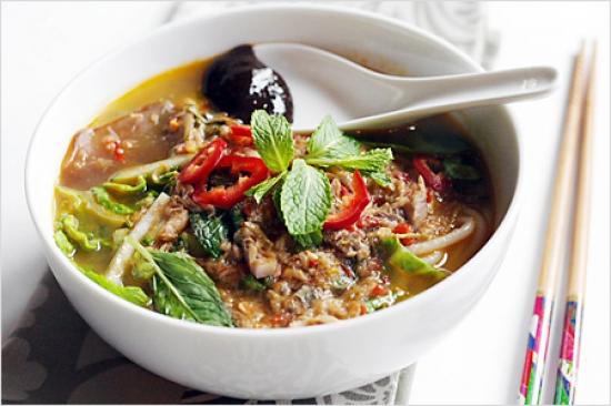 Ẩm thực Malaysia mỳ Penang Assam Laksa Ẩm thực Malaysia mỳ Penang Assam Laksa