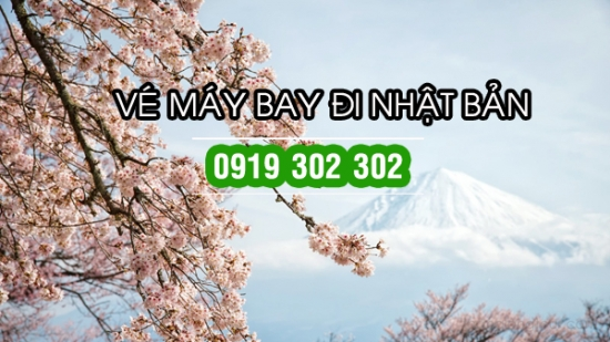 Vé máy bay đi Nhật giá rẻ ngắm hoa anh đào Vé máy bay đi Nhật giá rẻ ngắm hoa anh đào