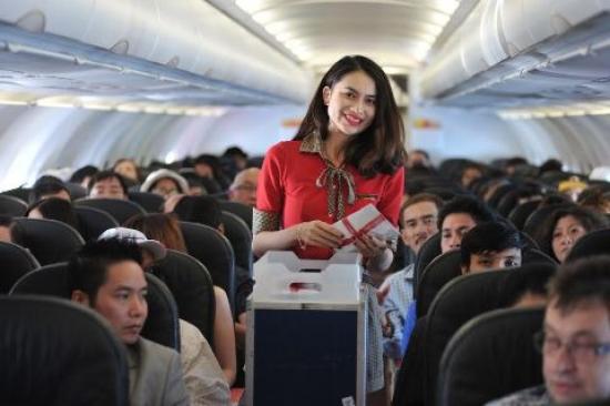 Vietjet tung 1,5 triệu vé máy bay giá hấp dẫn dịp Tết 2017 Vietjet tung 1,5 triệu vé máy bay giá hấp dẫn dịp Tết 2017