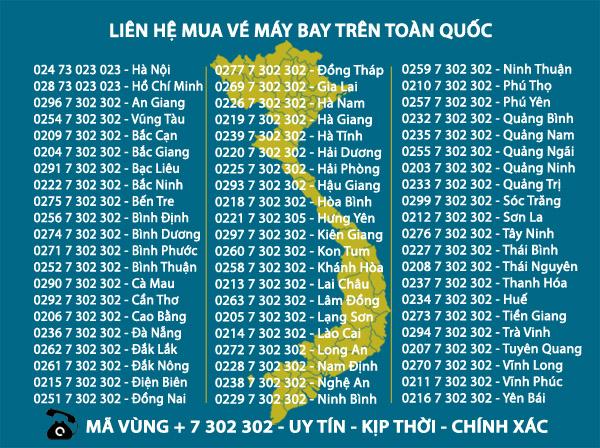 Đại lý vé máy bay Pacific Airlines tại Hà Nội